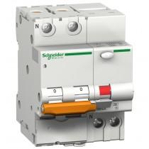 Magnetotermico Differenziale 1 Polo+N 10A 30MA AC 4,5KA Schneider DOMC45C10