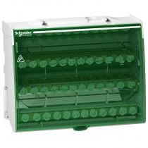 Morsettiera 4 Poli 125 A 48 fori Schneider LGY412548