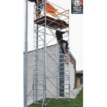 Trabattello in Acciaio Orio con Base di Mt 1,8x1 e Altezza di Mt 6,10 Frigerio ORIO-04