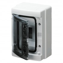 Centralino da parete IP65 Porta Trasparente 4 Moduli Gewiss GW40101