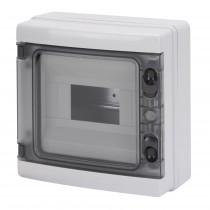 Centralino da parete IP65 Porta Trasparente 8 Moduli Gewiss GW40102