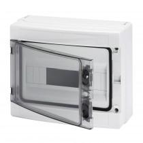 Centralino da parete IP65 Porta Trasparente 12 Moduli Gewiss GW40103