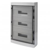 Centralino da parete IP65 Porta Trasparente 54 Moduli Gewiss GW40108