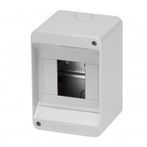Centralino 4 moduli da parete IP40 Senza porta Gewiss GW40023