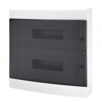 Centralino da parete porta trasparente IP40 36 Moduli Gewiss GW40049