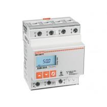 Contatore di Energia digitale Trifase 63A Lovato DMED300T2