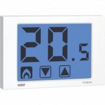 Termostato Touch Screen da Parete Bianco Thalos Vemer VE432100