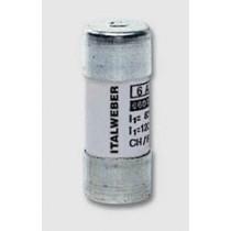 Fusibile in ceramica cilindrico  misura 22x58 mm 80A