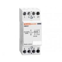 Contattore quadripolare 4 NA Bobina 24V ACDC 25A Lovato CN2510024