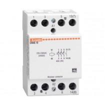 Contattore quadripolare 4 NA Bobina 24V ACDC 40A Lovato CN4010024