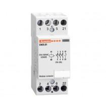 Contattore quadripolare 4 NA Bobina 220V AC 25A Lovato CN2510220