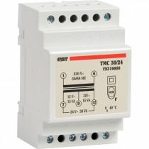Trasformatore di Sicurezza 30VA 12/24V DIN TMC Vemer VN319000