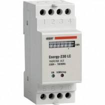 Contatore di Energia DIN per Sistemi Monofase Energy 230 LC Vemer VN960100