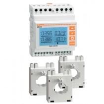 Kit contatore di energia DMG100 + 3 TA 250 a 5A Lovato DMGKIT100250