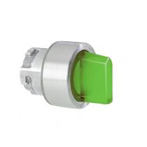 Selettore Luminoso Verde da pannello 2 posizioni Lovato 8LM2TSL1203