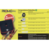 Kit Etelec Box 1 con Marsupio e Utensili in Omaggio Etelec KT1065