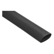 Guaina Termorestringente 6,4/3,2Mm Nero in Box da 8Mt Etelec RB0064