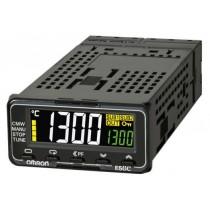 Termoregolatore Omron 48x24 mm 24V ACDC 2 display 4 cifre E5GC-RX1DCM-000