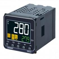 Termoregolatore Omron 3 AUX 48x48 mm 24V ACDC 2 Display E5CCRX3D5M000