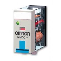 Rele' 2 Scambi bobina 24V AC con led indicatore di stato Omron G2R-2-SN-24AC