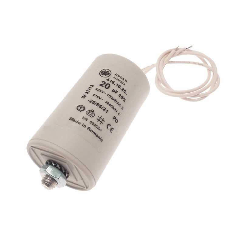 Condensatore di rifasamento per illuminazione 10 microfarad