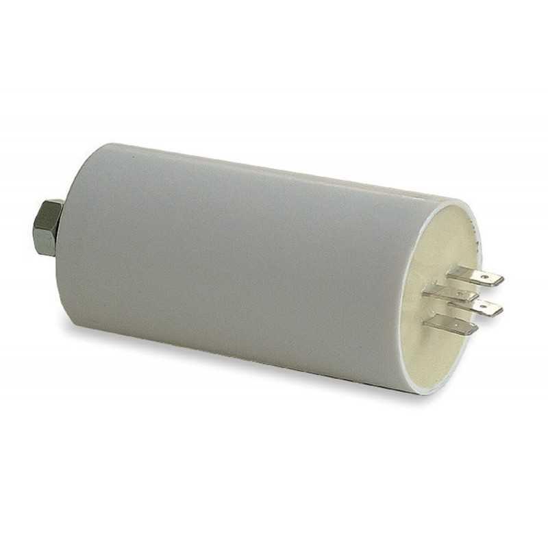 Condensatore di rifasamento per motori con faston 10 microfarad