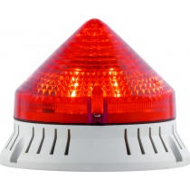 Segnalatore Luminoso e Acustico Rosso 220V Sirena 33763