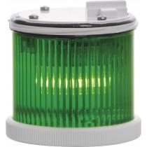 Modulo Luminoso Fisso Verde 12/240V TWS Sirena 27704