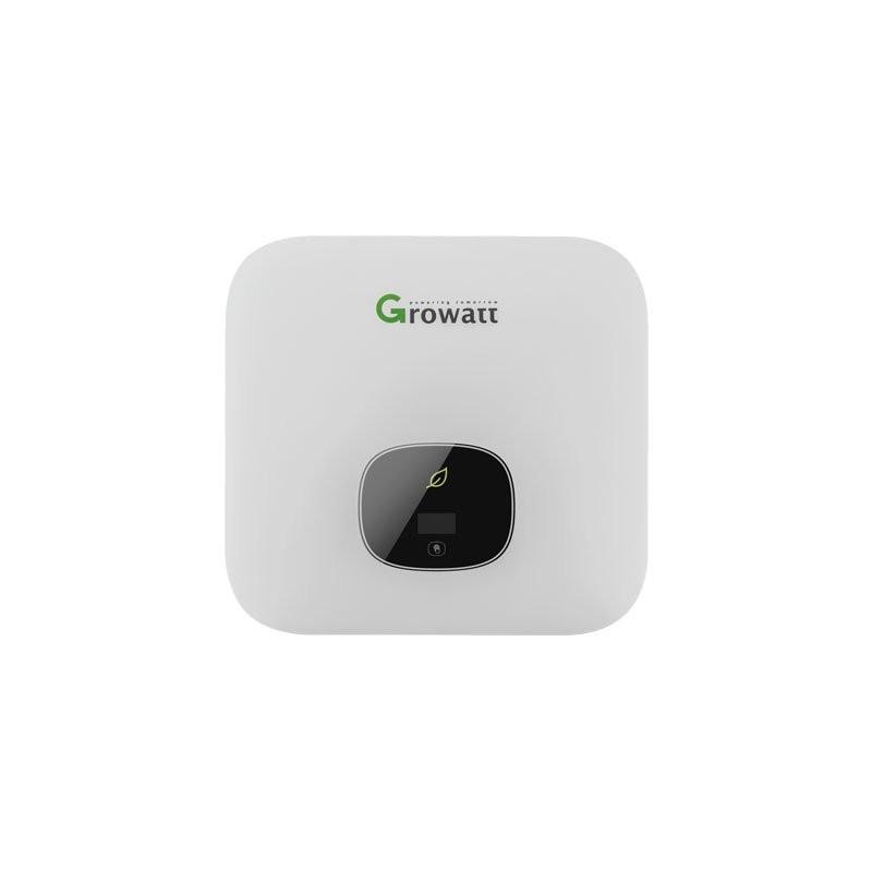 Inverter per fotovoltaico monofase 5 Kw Growatt 2MPPT GRW GW5000TL-XE