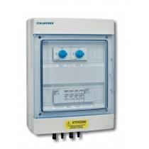 Quadro di protezione per fotovoltaico 2 Stringhe 2 Uscite Italweber 7852014FPSC