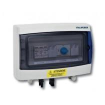 Quadro di protezione per fotovoltaico 2 Stringhe 1 Uscita Italweber 7852016SC