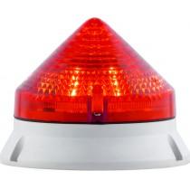 Segnalatore Luminoso Rosso 24/240V CTL Sirena 33573