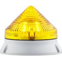 Segnalatore Luminoso Giallo 24/240V CTL Sirena 33575