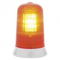 Segnalatore Luminoso Rotante Giallo 24V Sirena 63023