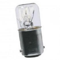 Lampada BA15D 5W 130V Sirena 70944