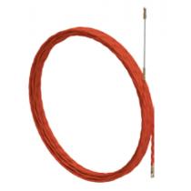 Sonda Passacavo Spiralata Diametro 5mm Mt.15 Rosso Arnocanali AM5.015