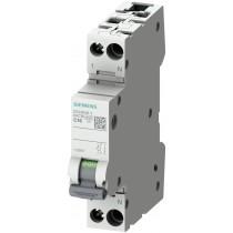 Interruttore Automatico Magnetotermico 1P+N 10A C 6KA Siemens 5SL60107