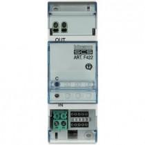 Interfaccia per la comunicazione fra BUS a tecnologia SCS Bticino F422