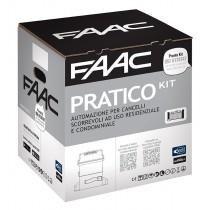 Pratico Kit FAAC per cancerlli scorrevoli fino a 600kg