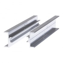 Giunto di Collegamento in Alluminio per Due Profili Solar Fischer CPN AL