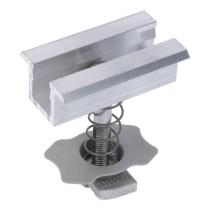 Morsetto Centrale in Alluminio per Fotovoltaico con Cornice Fischer PMC 33-39