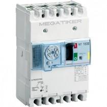 Interruttore magnetotermico differenziale 16kA MEGATIKER Bticino 3P+N 125A T714E125DB