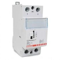 Contattore AC3 - 40 A - 230 Vac - 2 NO - 2 moduli  BTicino FC2A4/230N