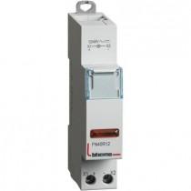Portalampada Bticino per segnalazione a led spia rossa 12/48 V  1 modulo FN40R12