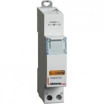 Portalampada Bticino per segnalazione a led spia gialla 110/400 V - 1 modulo FN40G110