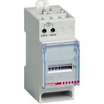 Contaore a 5 cifre 230 V 2 Moduli DIN Bticino F05/230