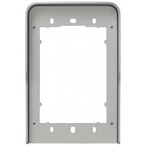 Cornice parapioggia 1 modulo Pixel grigio ELVOX 41141.01