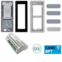 Kit base impianto citofonico 2 fili BPT KIT FREE-DC 61700360