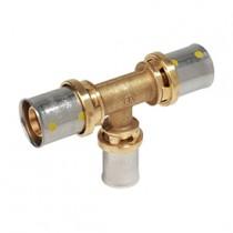 Raccordo a T per tubo Gas Attacchi 20X2 16X2 16X2 Giacomini RM151Y263