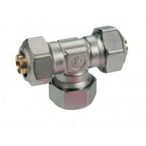 Raccordo a T per tubi in plastica o multistrato 20X2 Giacomini R564MX057
